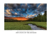 2009 State of the Rockies Poster