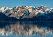 Alaska, Glacier Bay, Fairweather Range,