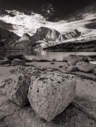 Wind River Range,mountains,alpine,rock,B&W,Wyoming,granite