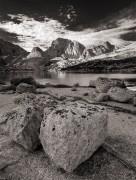 Wind River Range,mountains,alpine,rock,B&W,Wyoming,granite
