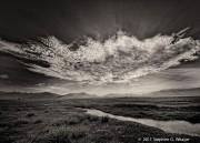 clouds, Medano Ranch, San Luis Valley, Colorado