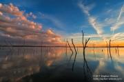 Cedar Bluff Sunset