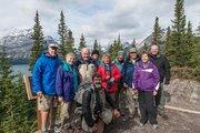 Alberta,Canadian Everest Expedition trail,Canadian Rockies,Colorado College alumi trip,Kananskis Lakes,Kanaskis Country,Mt Engadine Lodge