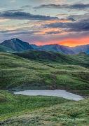 sunrise, Cinnamon Pass, San Juan Mountains, Colorado