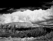 cumulous clouds,Snowy Range