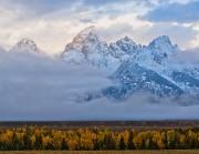 Teton Autumn Storm