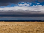 Wyoming Prairie Storm Clouds