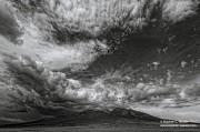 Sangre de Cristo Range, San Luis Valley, Colorado, Blanca peak, clouds,