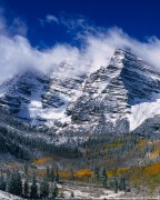 Clearing Storm over the Maroon Bells #2