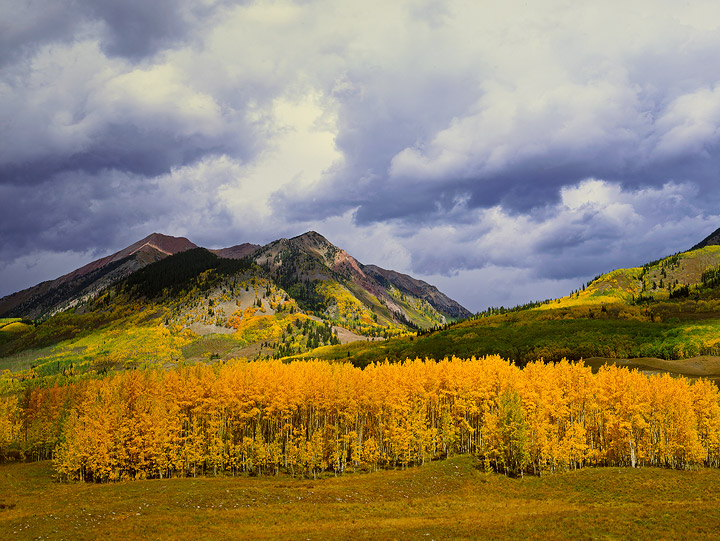 mountains ,Fall color,clouds       	, photo