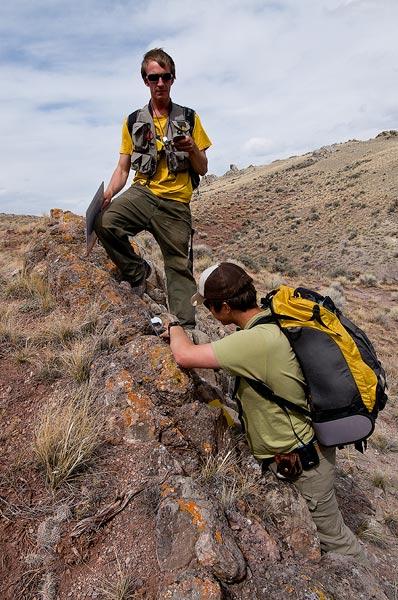 Colorado College, Montana, geology, students                , photo
