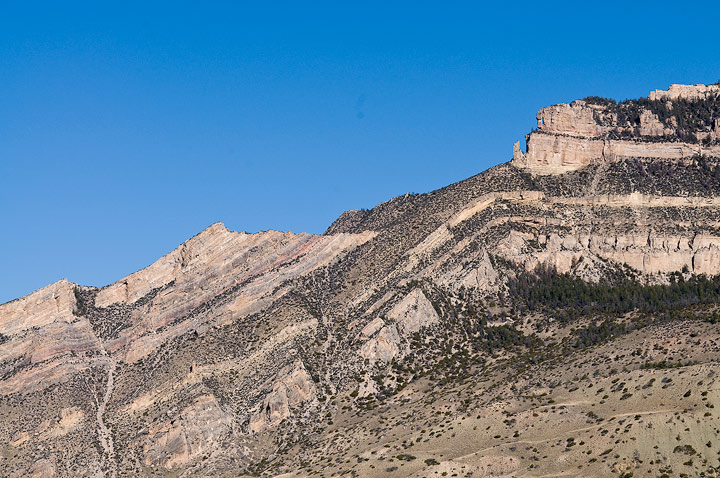 Big Horn Mountains, Shell Canyon, Wyoming, geology,monocline,fold, photo