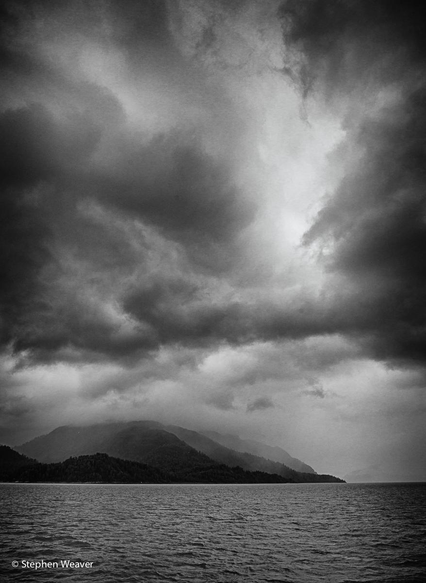 Alaska, Glacier Bay NP, clouds