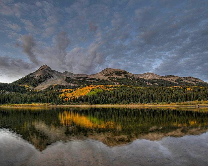 Lost Lake,reflection,sunrise,Autumn,               , photo