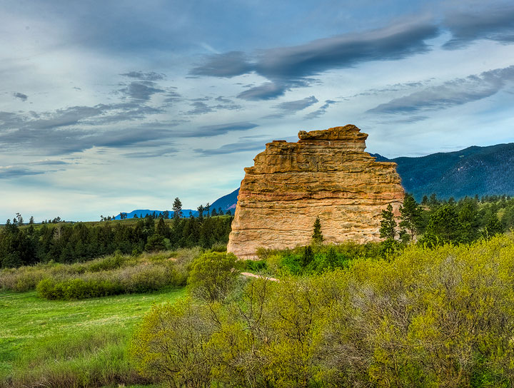 Monument Rock, photo