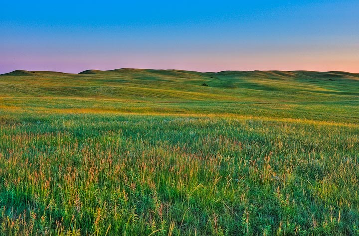 prairie,grassland,National Park, Theodore Roosevelt Nationl Park,sunrise,North Unit,        	, photo
