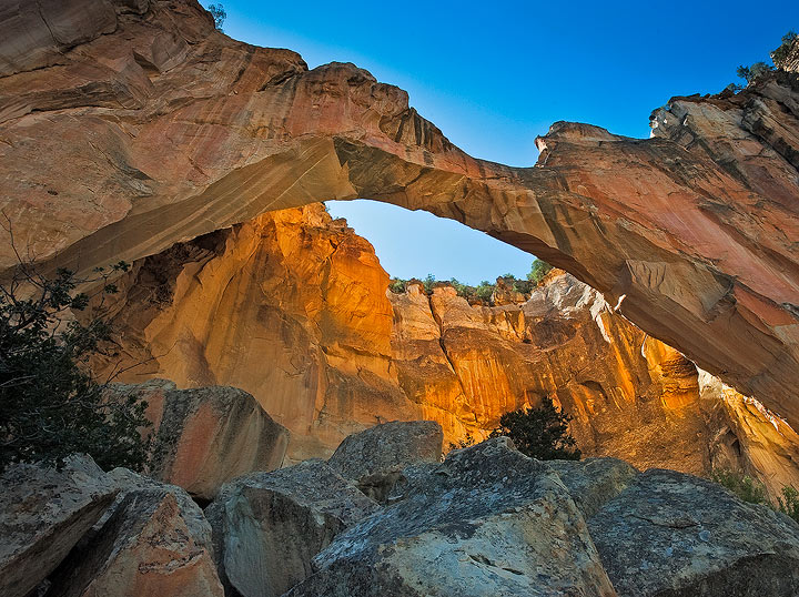 New Mexico,El Malpais National Monument,sandstone,arch, photo