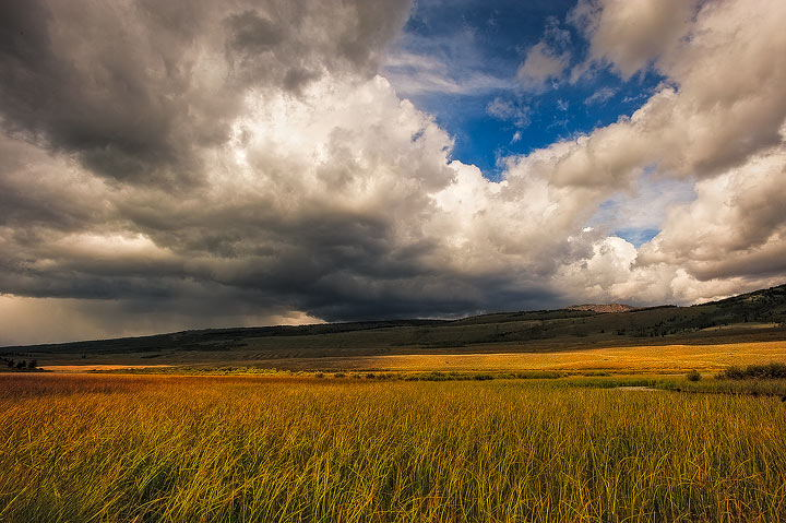 clouds,storms,Wind River Range,Wyoming,Green River,cumulous           , photo