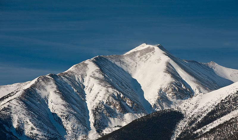 Mount Princeton,Colorado,snow,, photo