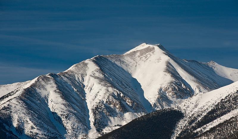 Mount Princeton,Colorado,snow,, photo