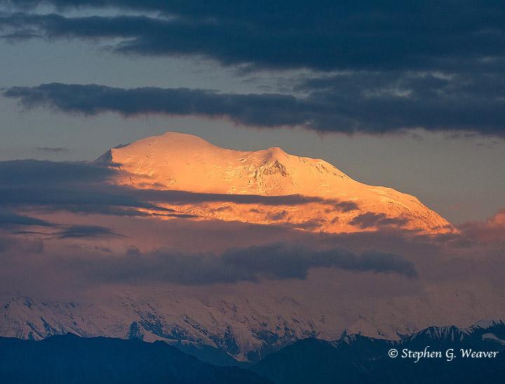 Denali,AK, Alaska, Denali NP,NP,alpenglow, photo