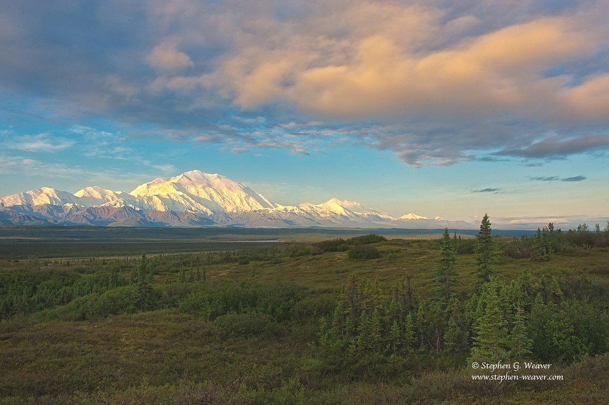 Denali, Denali National Park, Mt McKinley, clouds, photo