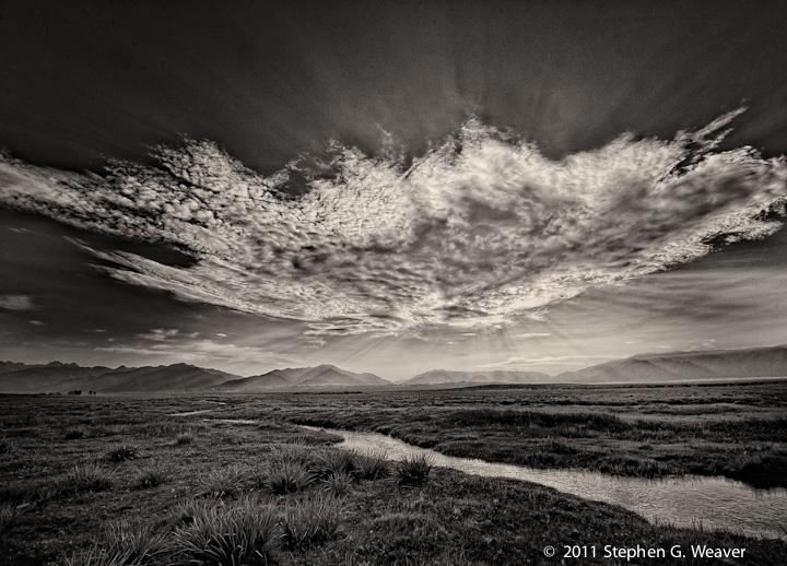 clouds, Medano Ranch, San Luis Valley, Colorado, photo
