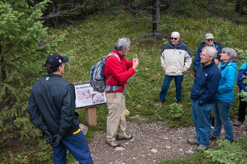 Alberta,Canadian Rockies,Colorado College alumi trip,Mt Engadine Lodge, photo