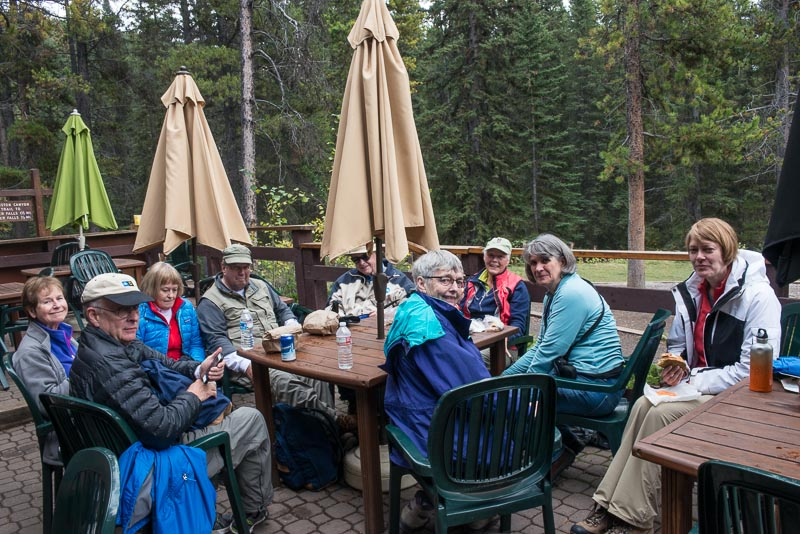 Alberta,Banff NP,Canadian Rockies,Colorado College alumi trip,Johnston Canyon,Mt Engadine Lodge, photo