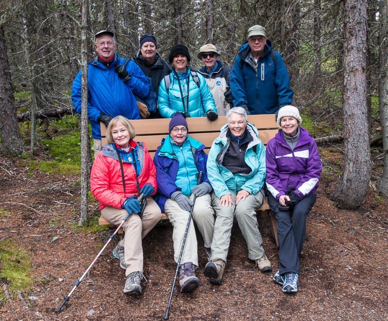 Alberta,Canadian Everest Expedition trail,Canadian Rockies,Colorado College alumi trip,Kananskis Lakes,Kanaskis Country,Mt Engadine Lodge, photo