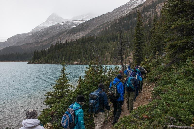 Alberta,Banff NP,Bow Lake,Canadian Rockies,Colorado College alumi trip,Mt Engadine Lodge, photo