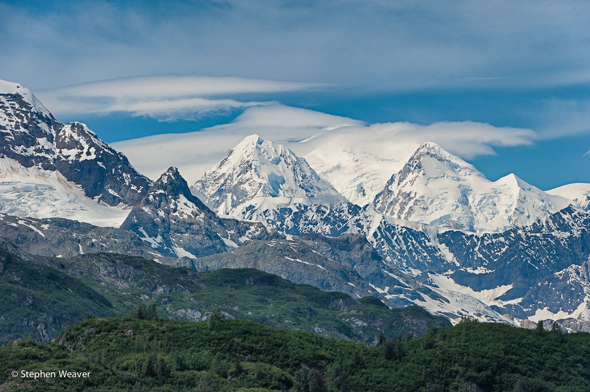 Mt Quincy Adams, Glacier Bay National Park, Fairweather Range, photo