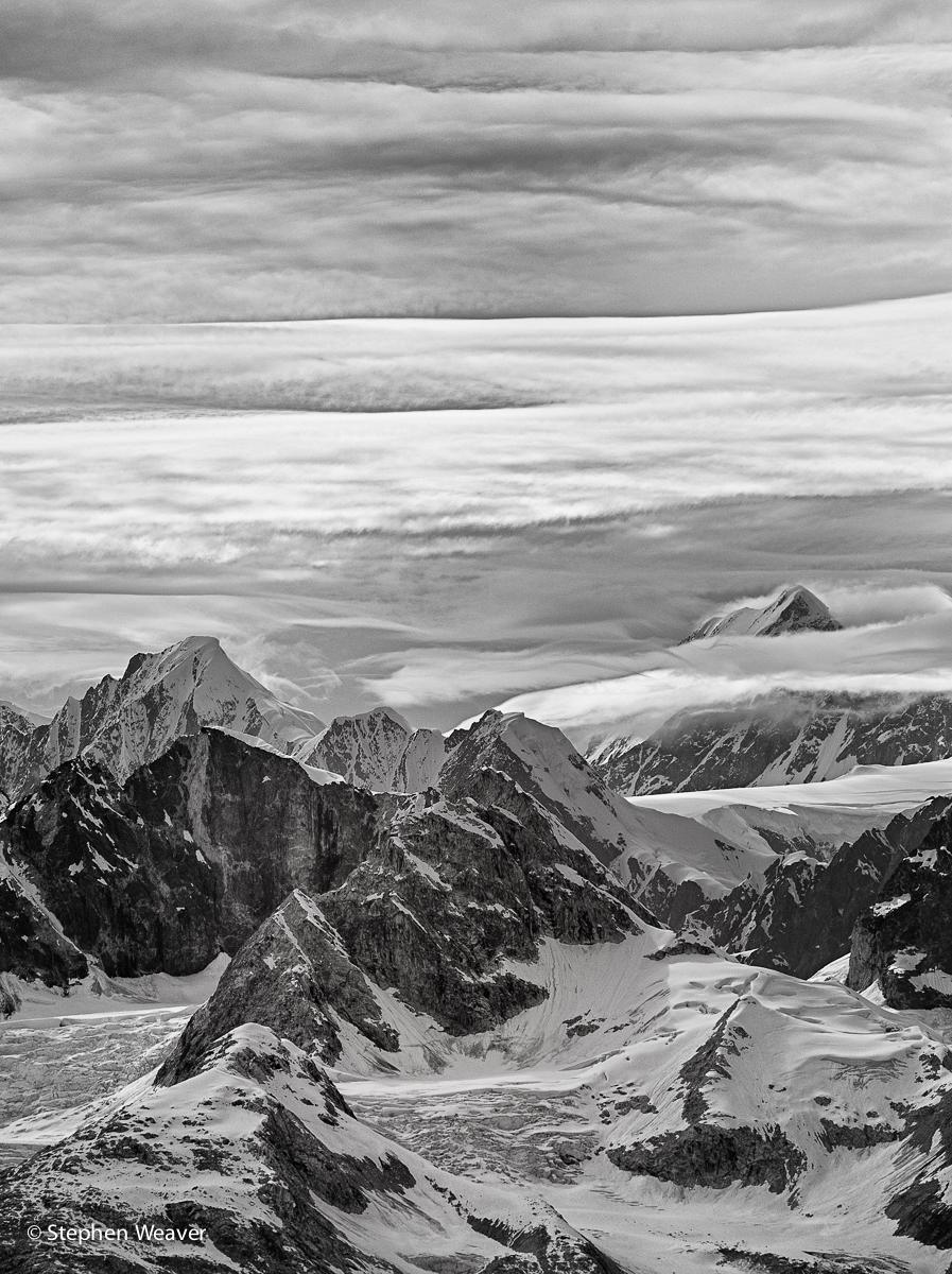 Alaska, Glacier Bay NP, Johns Hopkins Inlet, Glacier Bay, mountains, glaciers