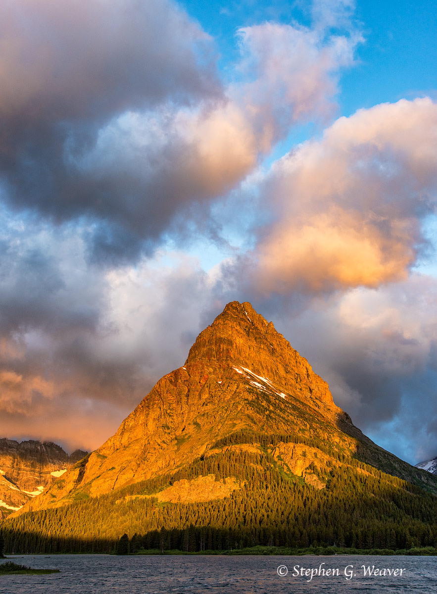 Mt Grinnell Sunrise
