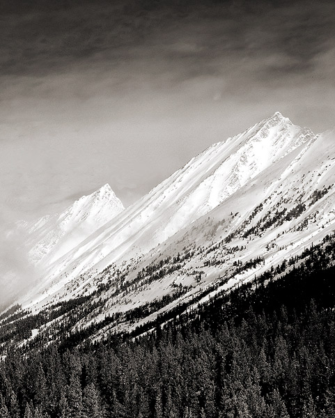 Canadian Rockies,Winter, Jasper National Park