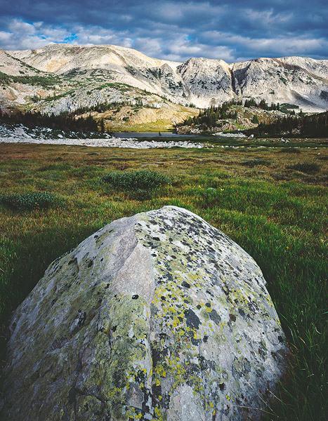 Snowy Range, Wyoming, Summer, alpine, alpine meadow, quartzite, Pre-Cambrian, geology, lichens